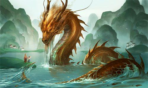 Ryūjin dragón