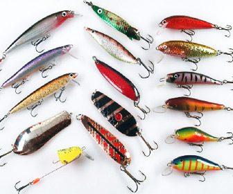 Señuelos y spinners para pescar salmones