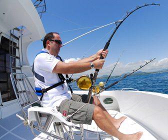 Silla de combate para la pesca