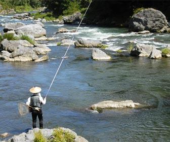 Tipo de pesca deportiva Tenkara