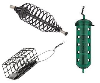Tipos cebadores pesca al feeder