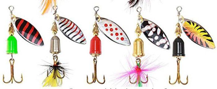 Tipos de cucharillas de pesca