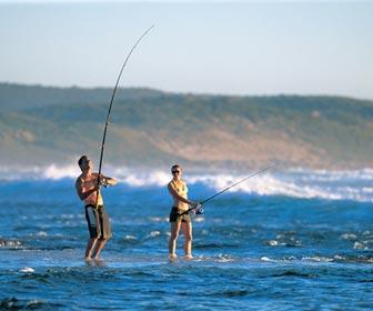 Tipos de pesca deportiva desde costa