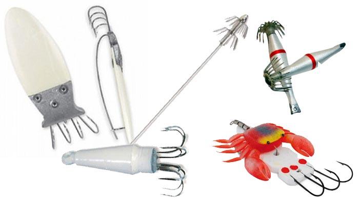 Tipos de pulperas para la pesca del pulpo