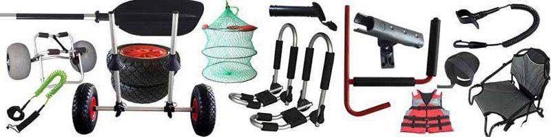 Todos los accesorios complementos para kayaks