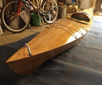 kayaks de madera