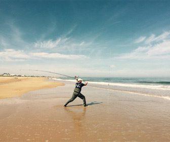 playas pesca surfcasting en Cádiz